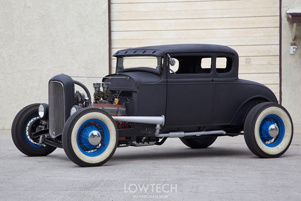 lowtech traditional hot rods and customs 1931 ford. Black Bedroom Furniture Sets. Home Design Ideas