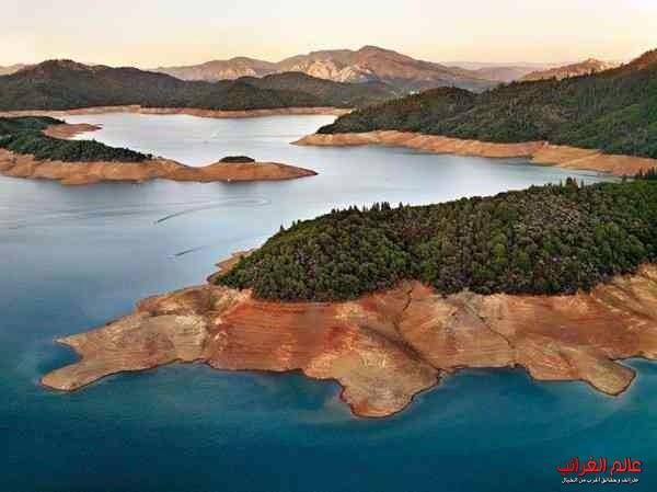 بحيرة شاستا كاليفورنيا، الولايات المتحدة
