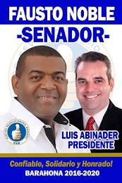 fausto noble senador (PRM)