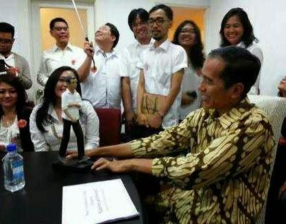 Jokowi Dahulu Sering Blusukan Sekarang jadi e-Blusukan
