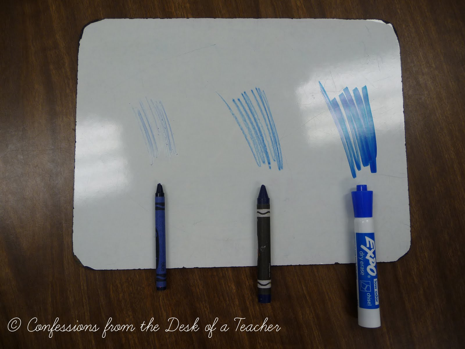 the great dry erase experiment