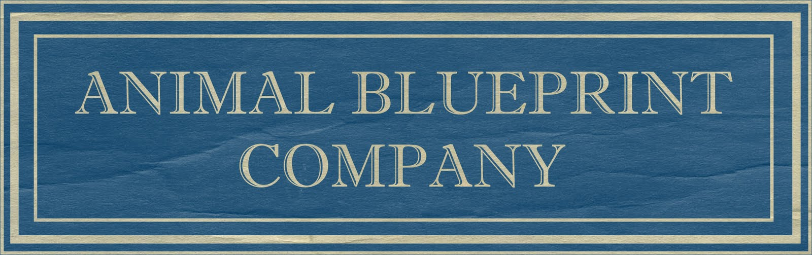 To you meet our new client animal blueprint company animal blueprint company designer of detailed dog portraits created in the original style of a 1950s blueprint complete with schematics and design notes malvernweather Gallery