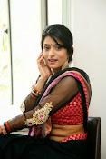 Nidhi Natuiyal Glamorous Photos in Saree-thumbnail-6