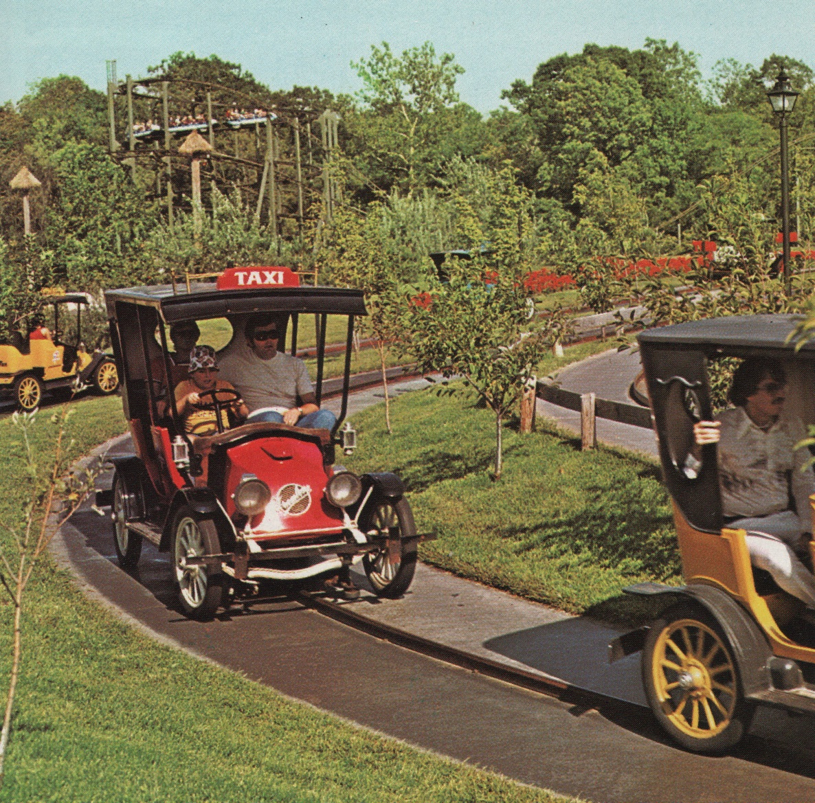 Worlds of Fun.Org: 9 Old Rides: The Original Rides from 1973