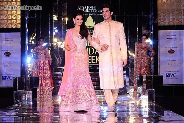 The Bollywood stars at the Aamby Valley India Bridal Week 2011