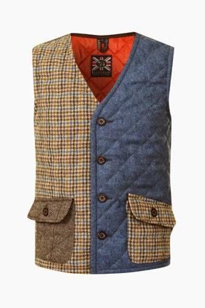 Lavenham Cockfield tweed Waistcoat