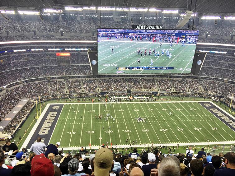 AT&T stadium screen