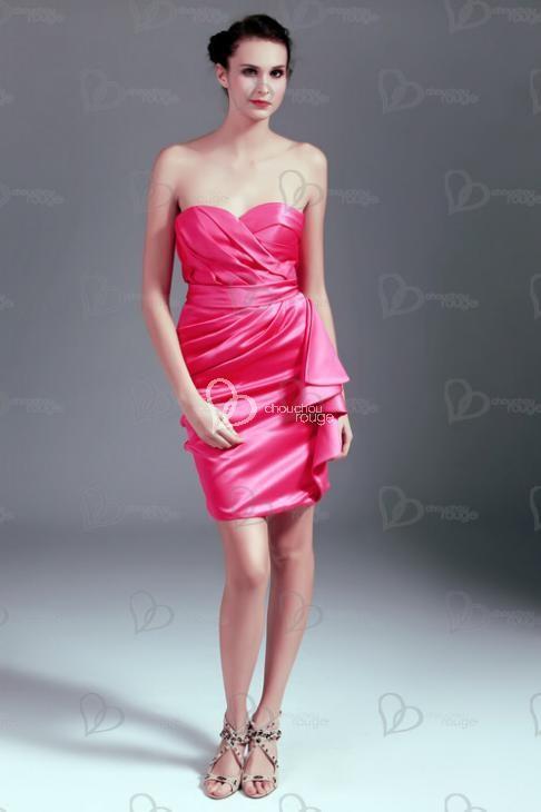 Adela: Vestidos de Noche Cortos de Moda