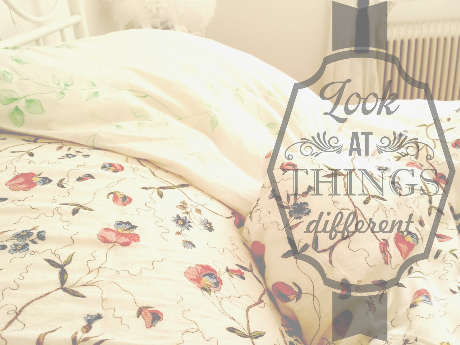 bed, cosy, home, motivational