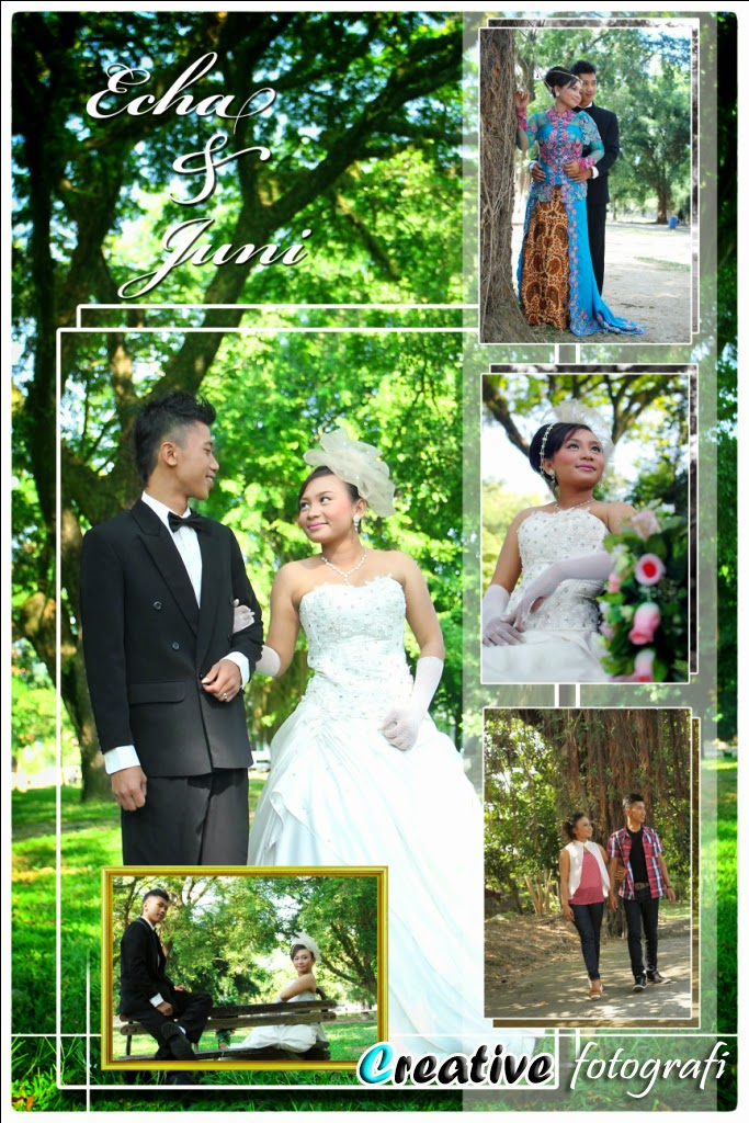 foto prewedding di semarang memakai gaun modern dan kebaya