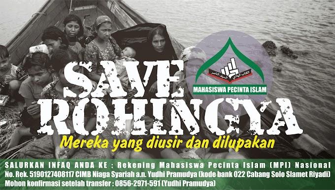 Ayo Bantu Muslim Rohingya di Aceh !