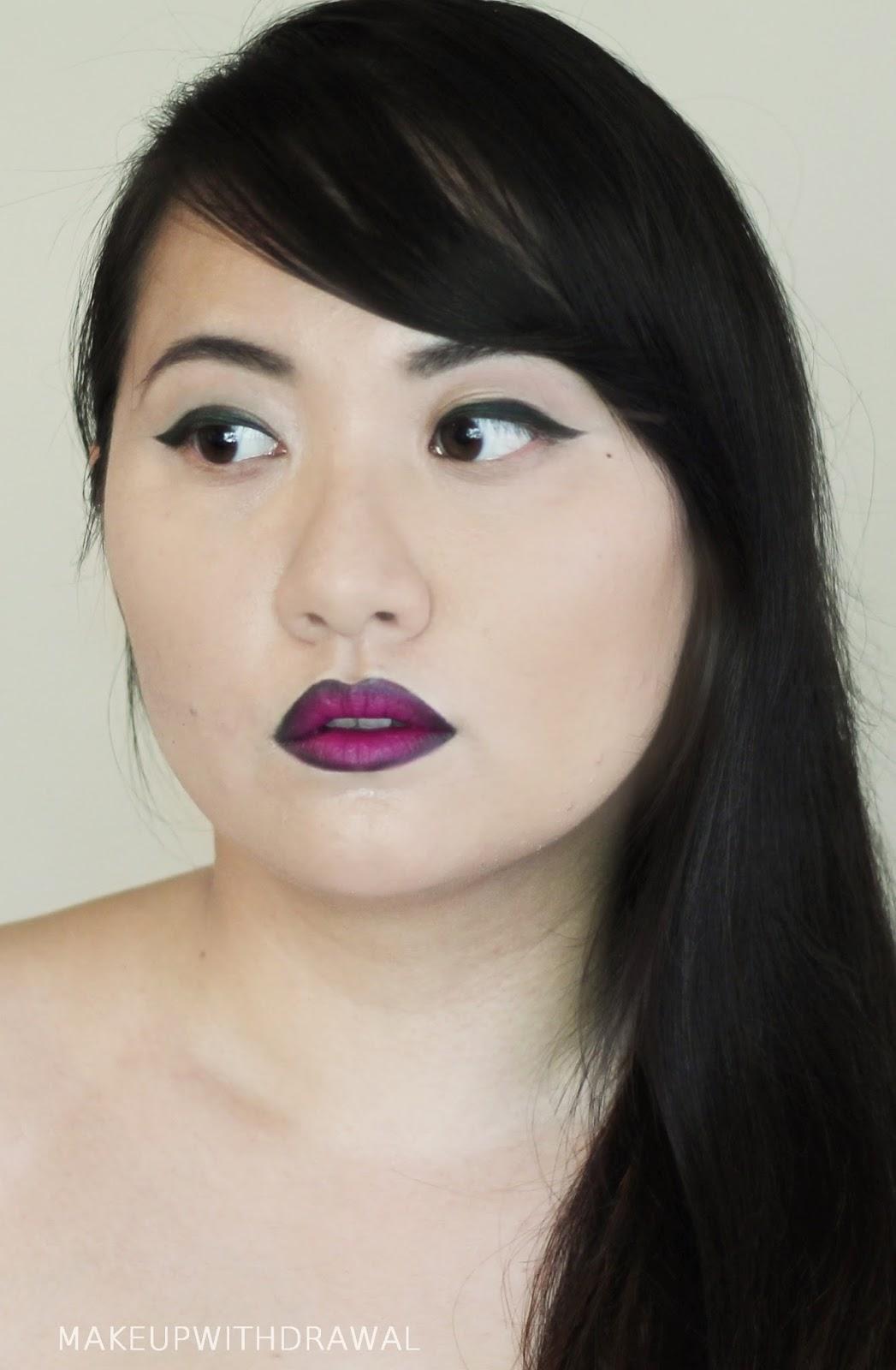 FOTD with Impulse Cosmetics Run Away Lipstick   Makeup Withdrawal