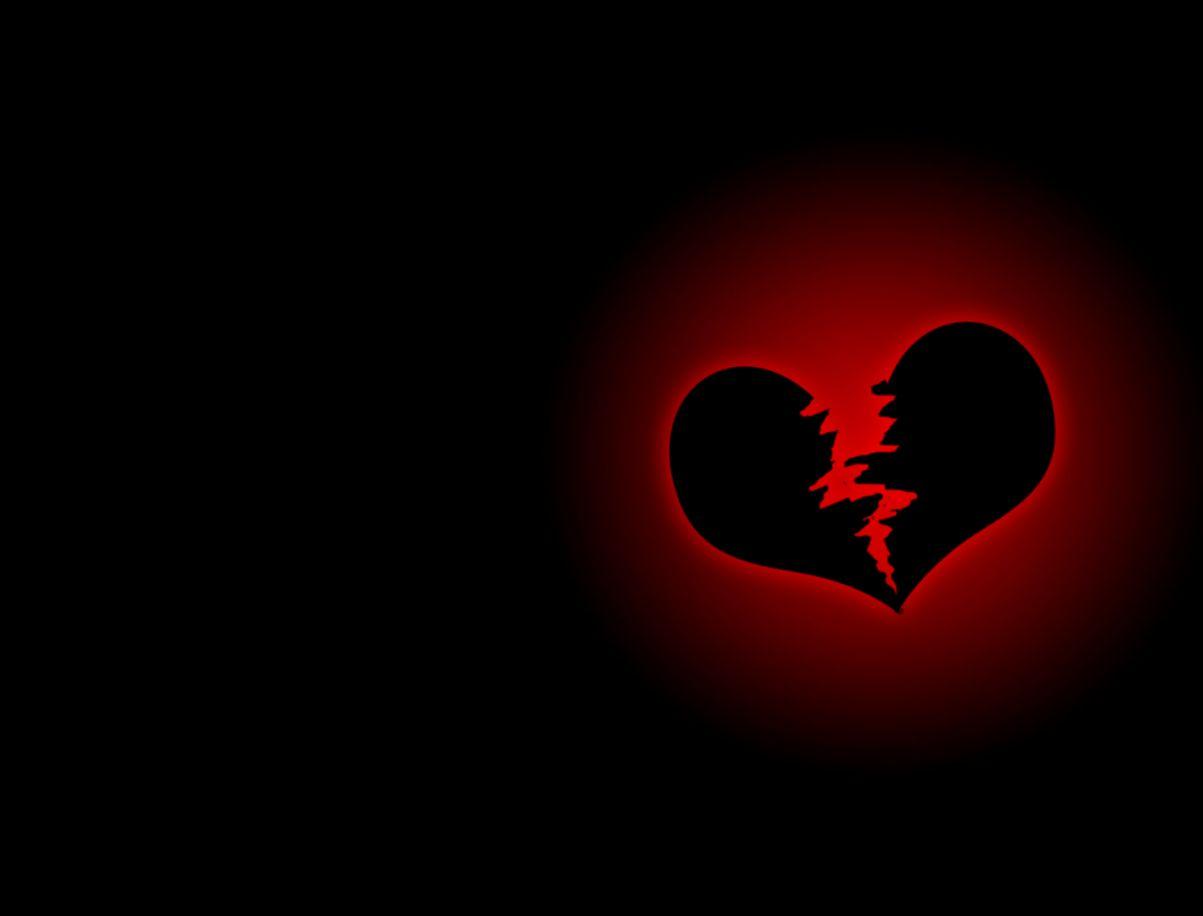 broken heart even shines with