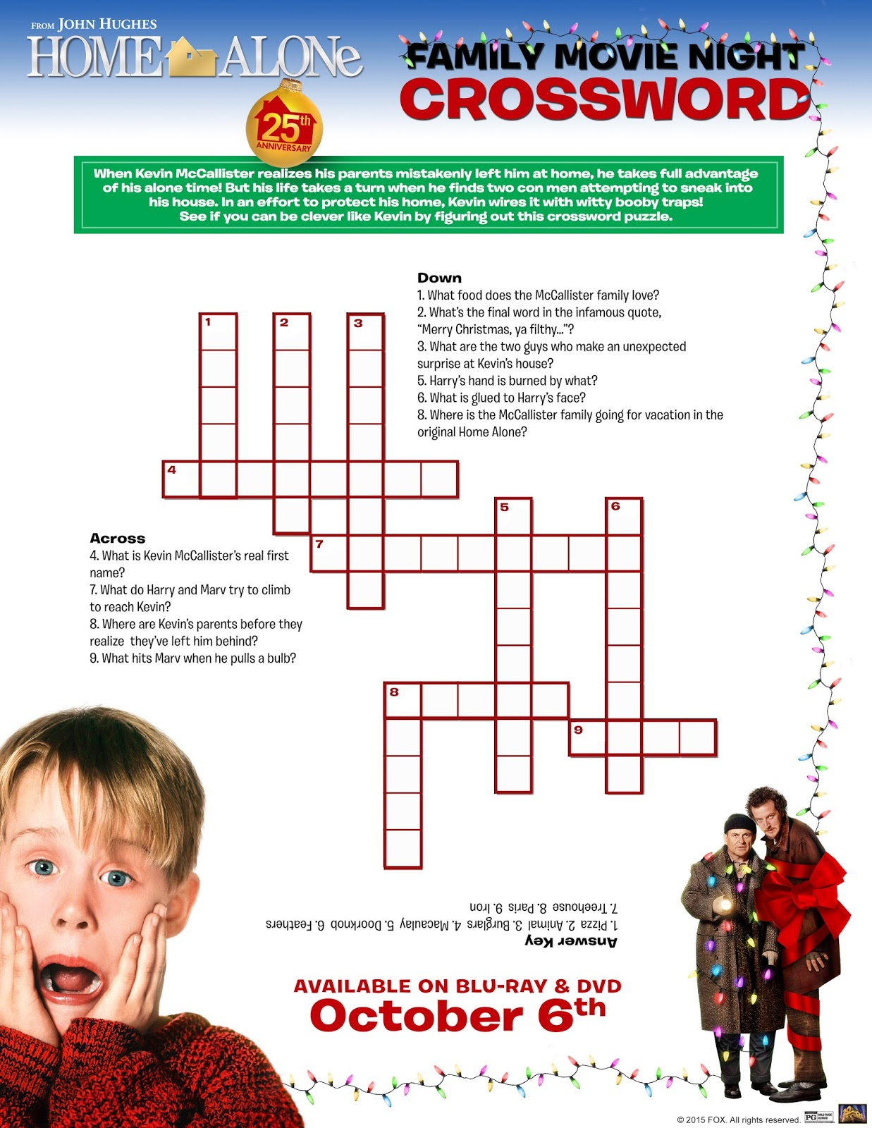 Hanging Off The Wire: Home Alone 25th Anniversary #Giveaway With ...