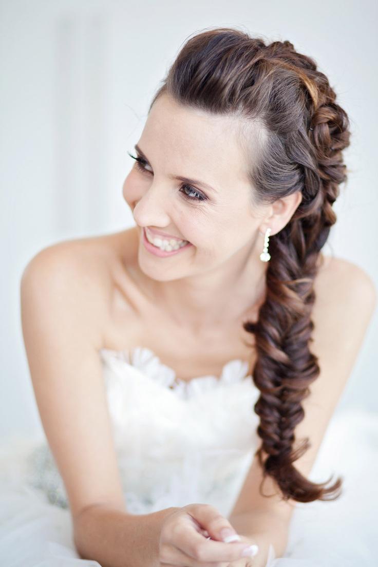 La moda en tu cabello trenzas para novias 2015 - Peinados de novia actuales ...