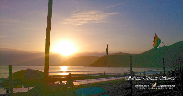 Sunrise at Sabang Beach, Baler Aurora - Schadow1 Expeditions