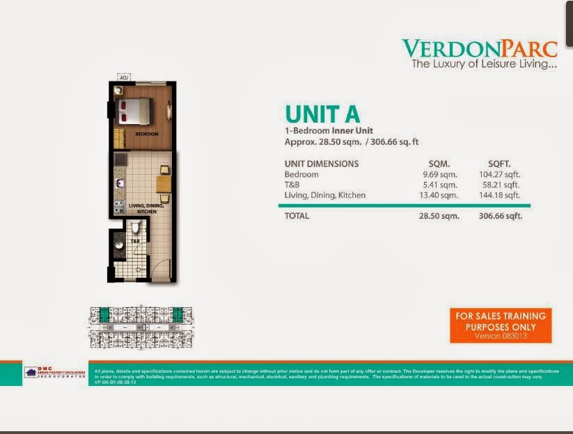 Verdon Parc Davao Unit A