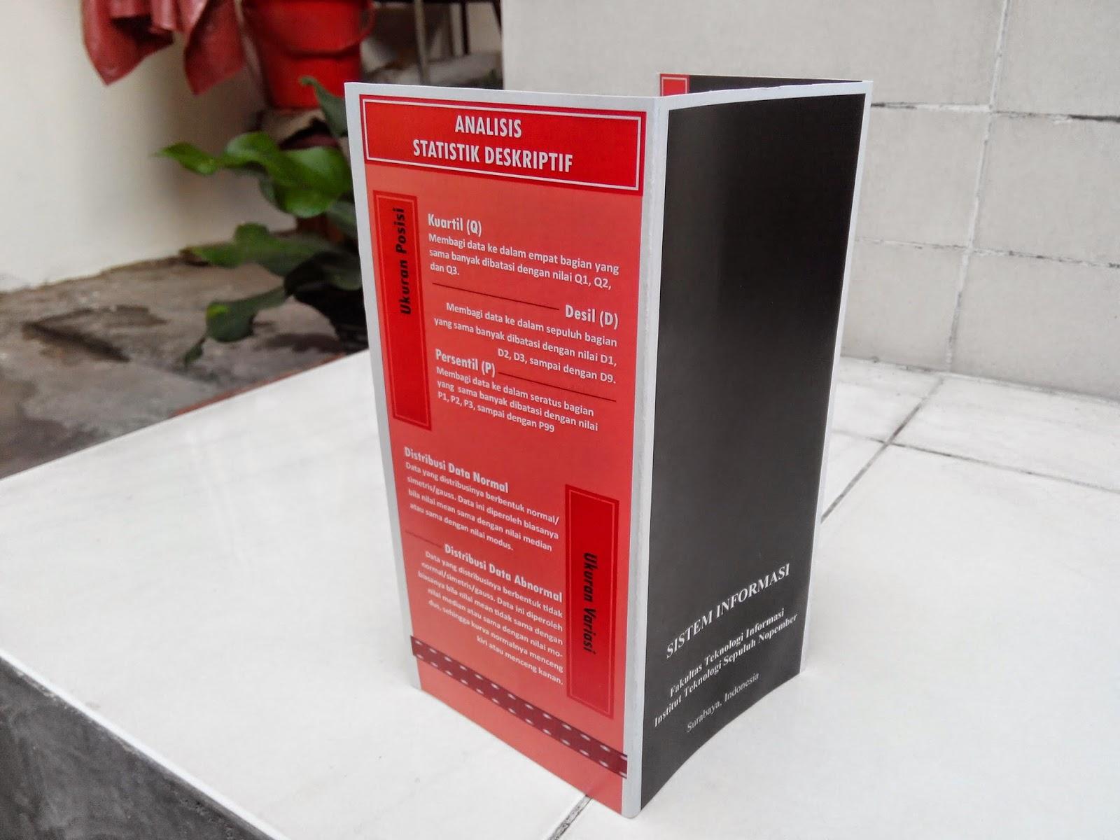 Brosur (Mata Kuliah Statistika) - ekagustina