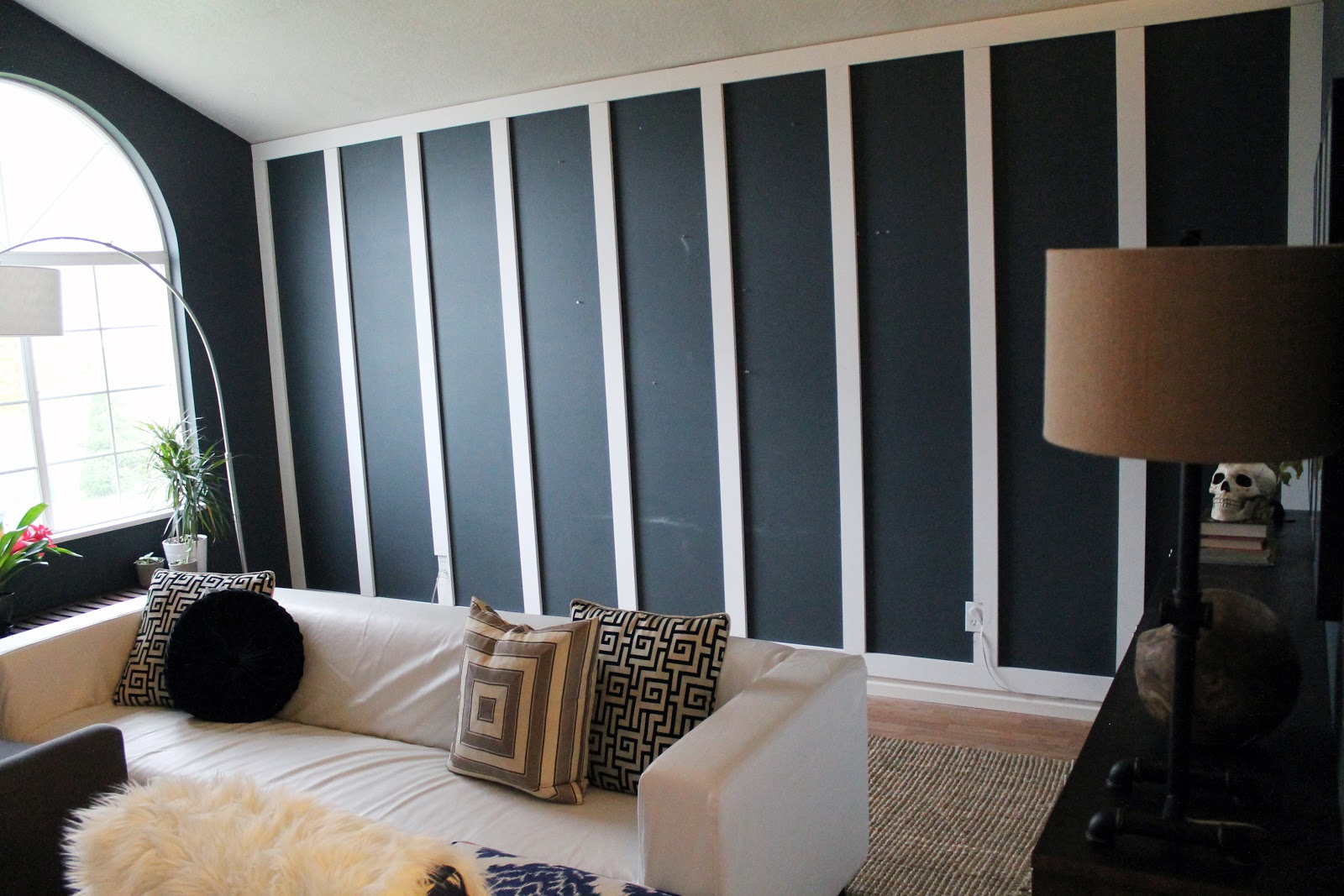 Wainscoting Bedroom Accent Wall