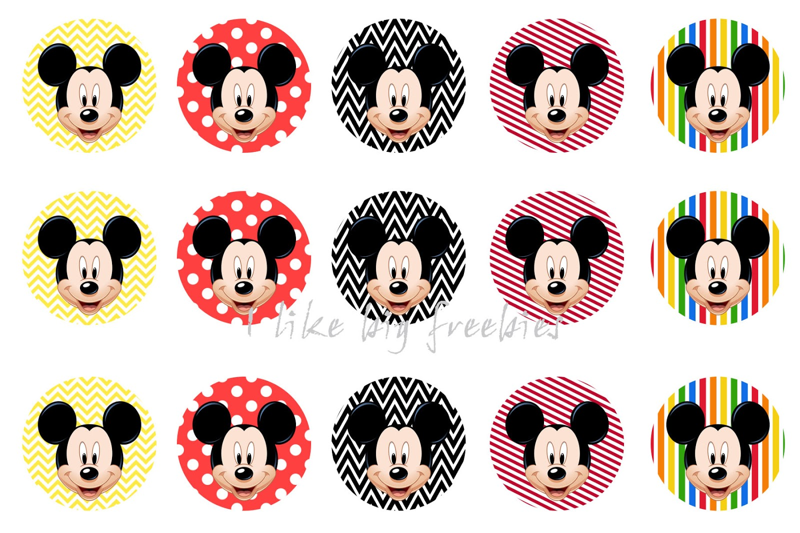 Freebies mickey mouse