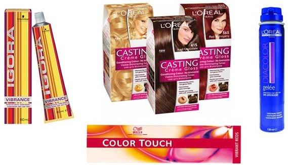 Baño Color Rojo Pelo:entre baño de color y la tintura o tinte