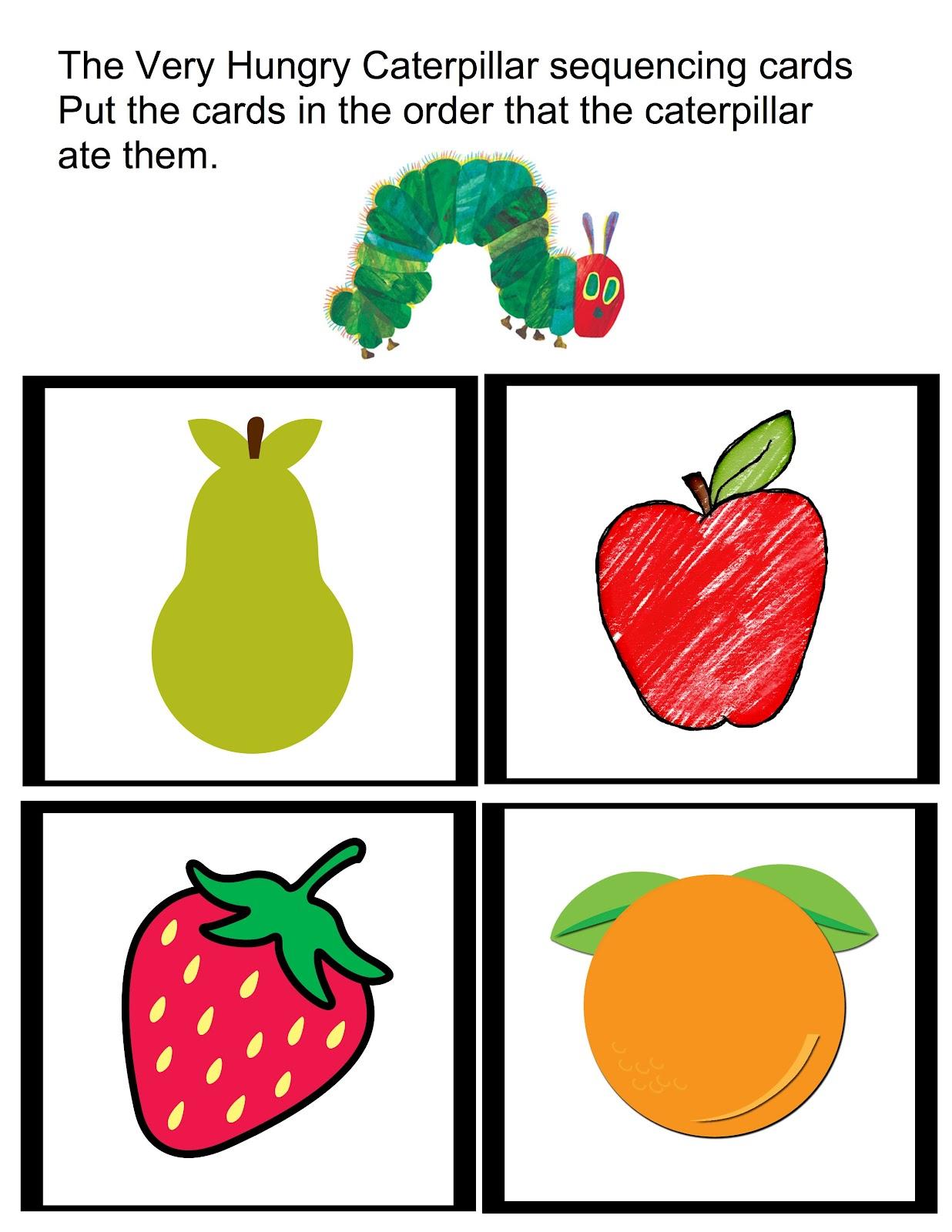 Teacher Talk The Very Hungry Caterpillar
