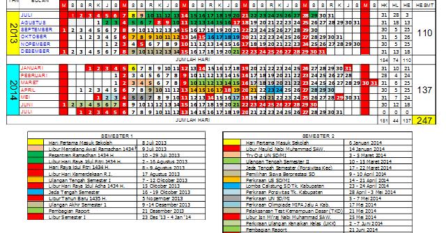 Kalender Pendidikan Provinsi Jawa Barat Operator Sekolah