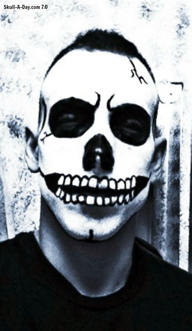 Halloween Skull Face