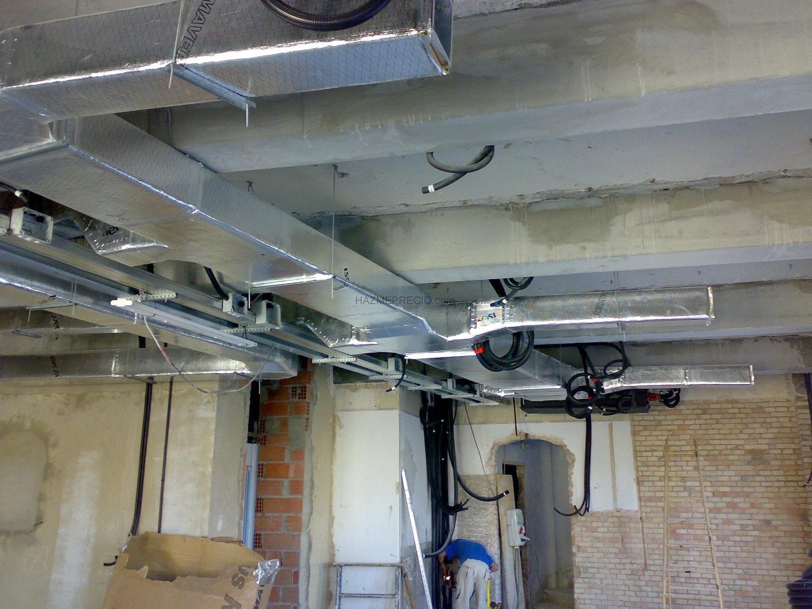 Mantenimiento de aire acondicionado aire for Aire acondicionado conductos