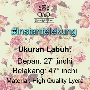 Pre-Order Batch 1 Instant Telekung By QAO