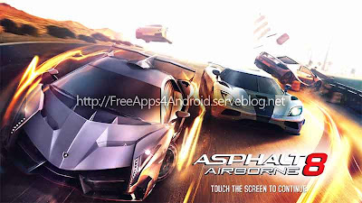 Asphalt 8: Airborne Free Apps 4 Android