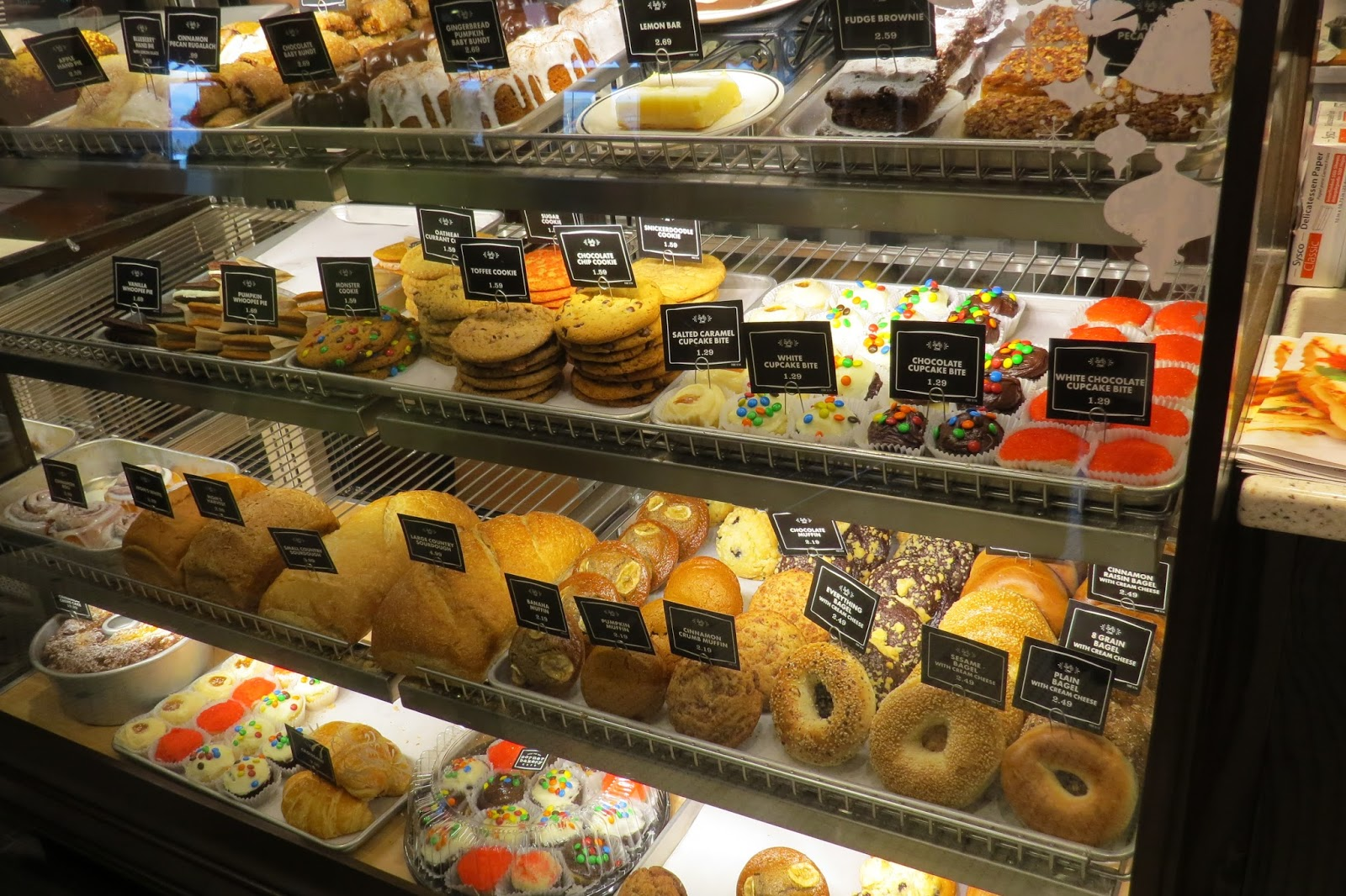 Corner Bakery Cafe, Bakery Display Case, Amazing homemade treats
