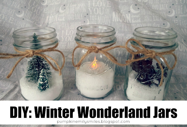 DIY: Winter Wonderland Jars