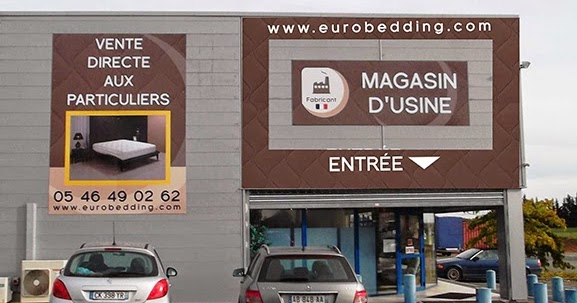 le magasin d usine eurobedding aytr magasins. Black Bedroom Furniture Sets. Home Design Ideas