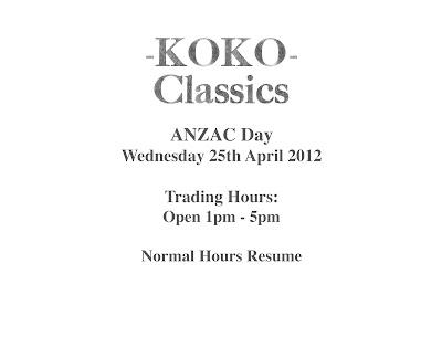 Koko black trading hours