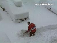 Snow in Gaschurn Austria