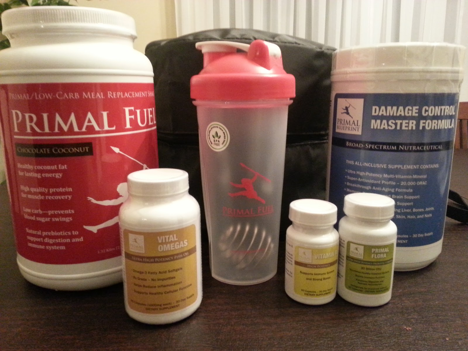 Hunter gatherer runner primal blueprint supplement preview the line up includes a 30 day supply of each primal fuel damage control master formula vitamin d vital omegas and primal flora malvernweather Image collections