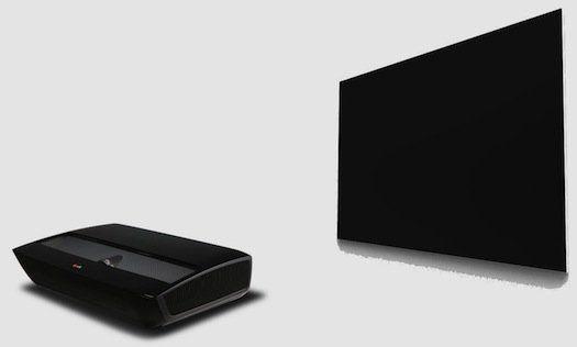 """14 Produk Teknologi Terbaik dari CES Tahun 2013 (Bagian 1): Proyektor LG """"Hecto"""" 100 Inci"""