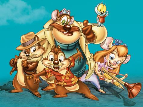 Make your own team of heroes! Chip-dale-rescue-rangers