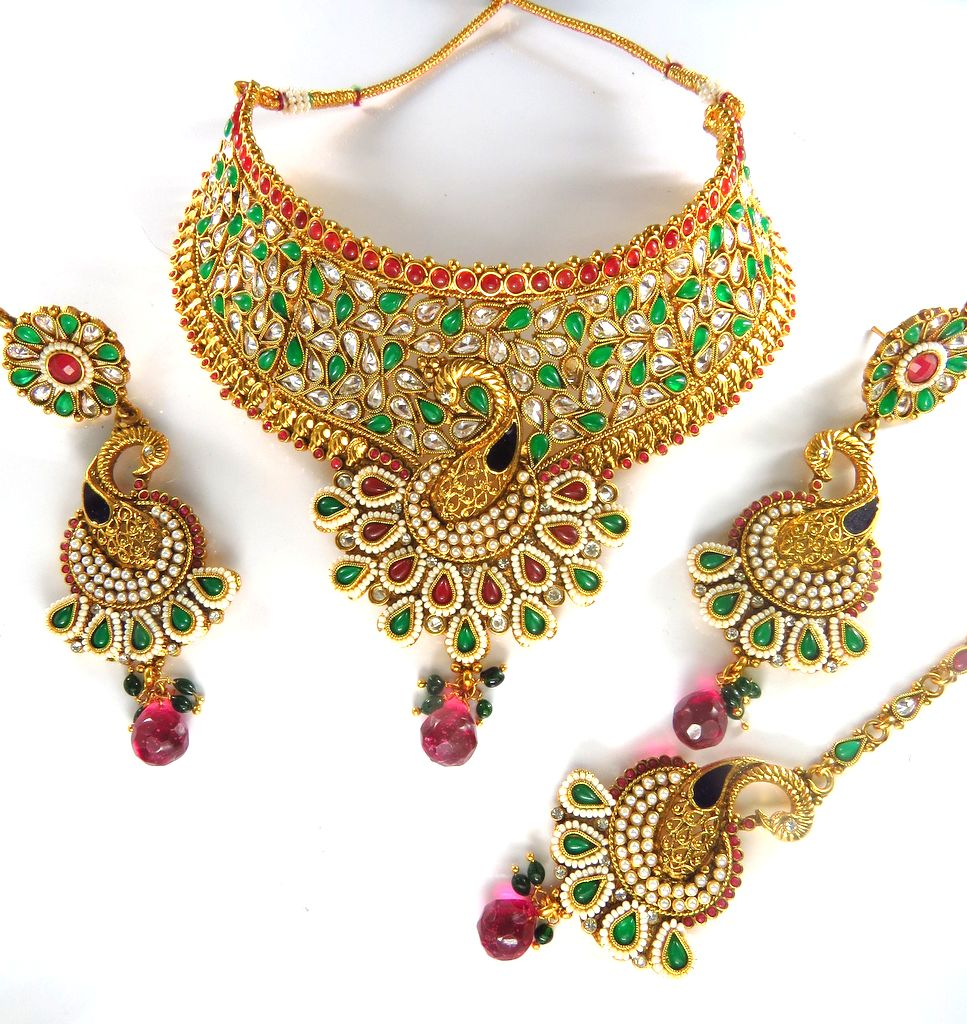 Indian bridal jewelry export for Online designs