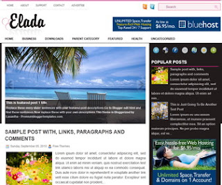 Elda-Blogger-Template