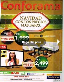 navidad 2012 muebles conforama