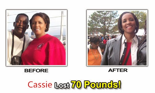 Cassie use Lida Daidaihua Capsules lose weight succeed