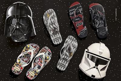 coleção Havaianas Star Wars blog Tudo Sobre Tudo