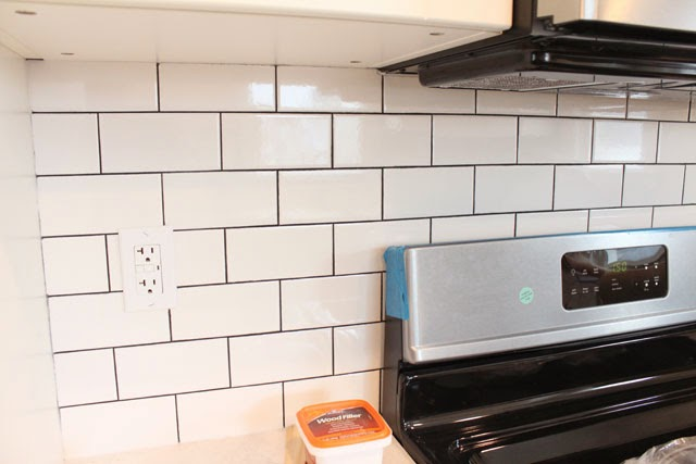 how to tile over countertop laminate