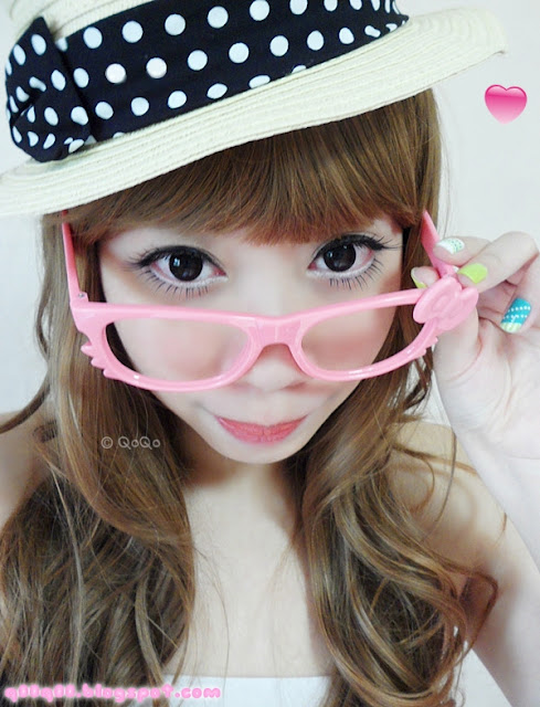 GEO CK105 Black Contact Lenses