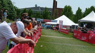 marathon relay finish line