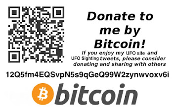Please Help UFO Sightings Daily By Donating Bitcoin.