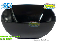 Melamin Square Bowl