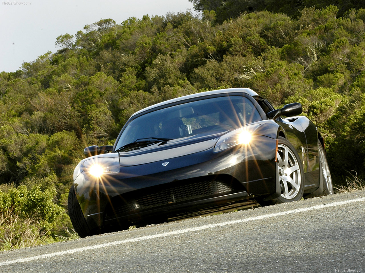2011 Tesla Roadster Wallpaper